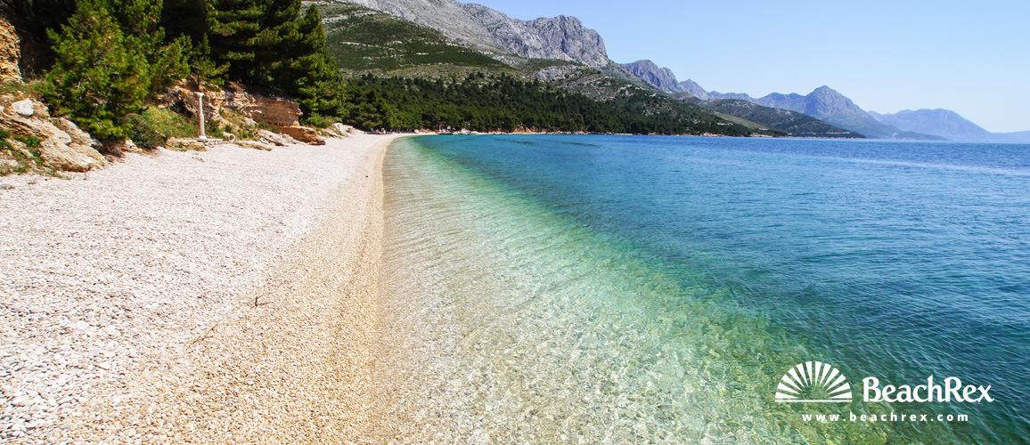 Croatia - Dalmatia  Split -  Živogošće - Beach Dole
