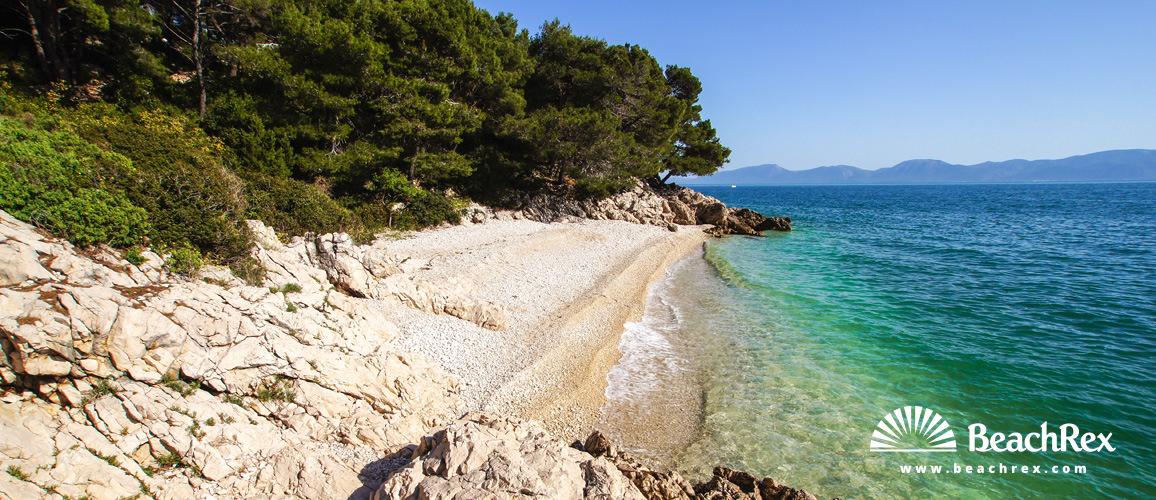 Croatia - Dalmatia  Split -  Zaostrog - Beach Lučica