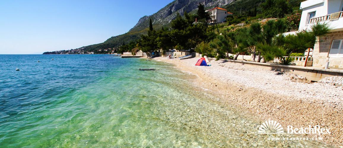 Croatia - Dalmatia  Split -  Brist - Beach Biserka