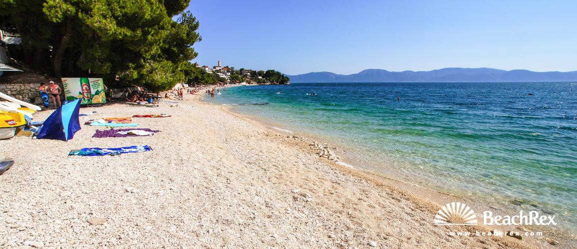 Croatia - Dalmatia  Split -  Gradac - Beach Bosač