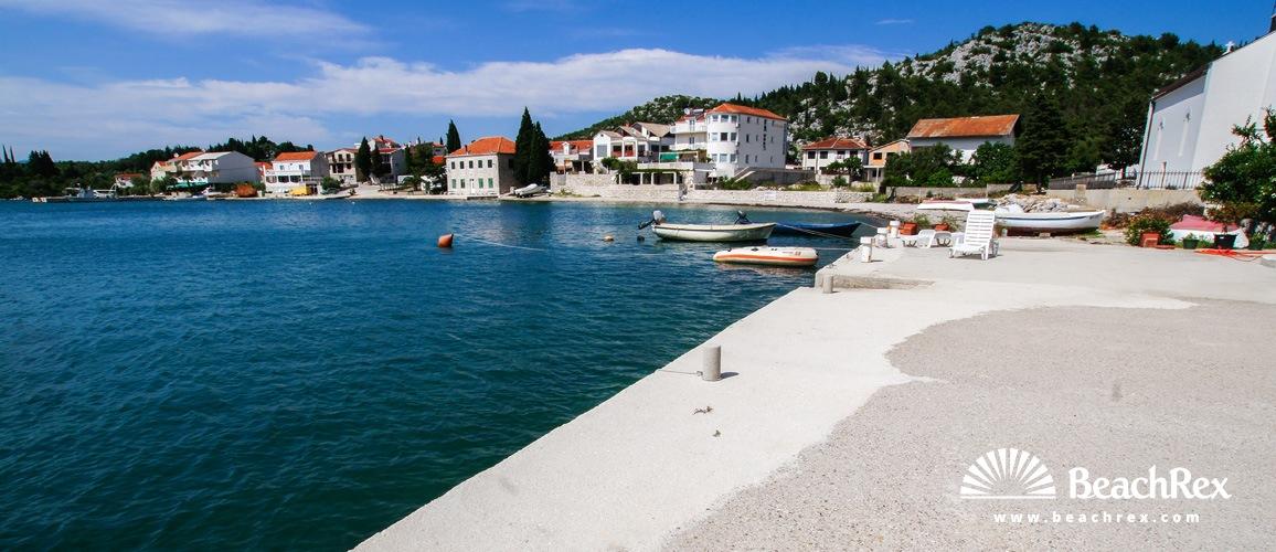 Croatia - Dalmatia  Dubrovnik -  Ploče - Beach Blace