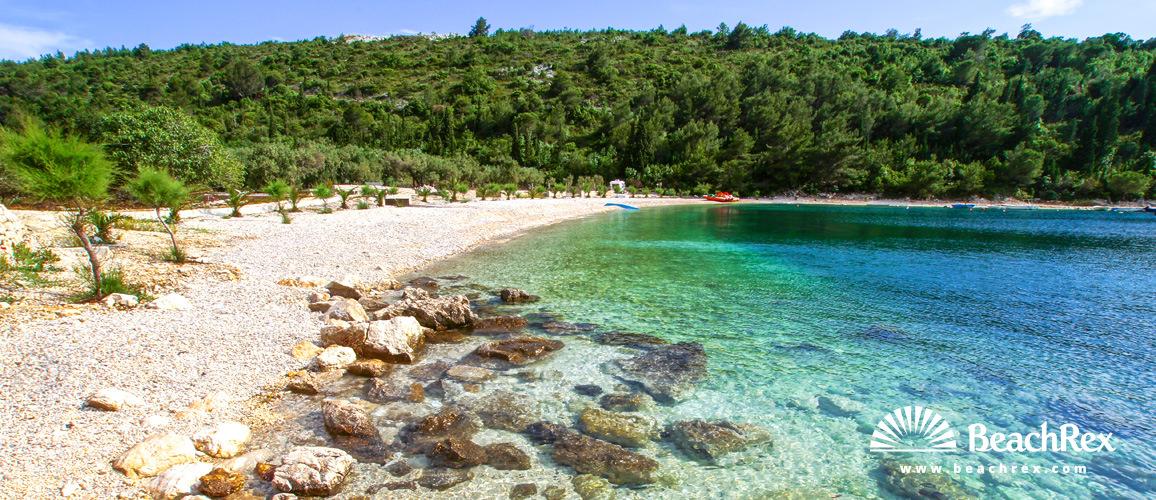 Croatia - Dalmatia  Dubrovnik -  Duba - Beach Duba