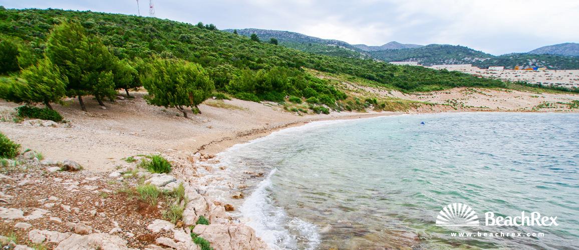 Croatia - Dalmatia  Dubrovnik -  Komarna - Beach Popova