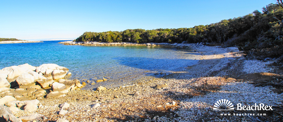 Croatia - Kvarner - Island Cres -  Punta Križa - Beach Edita
