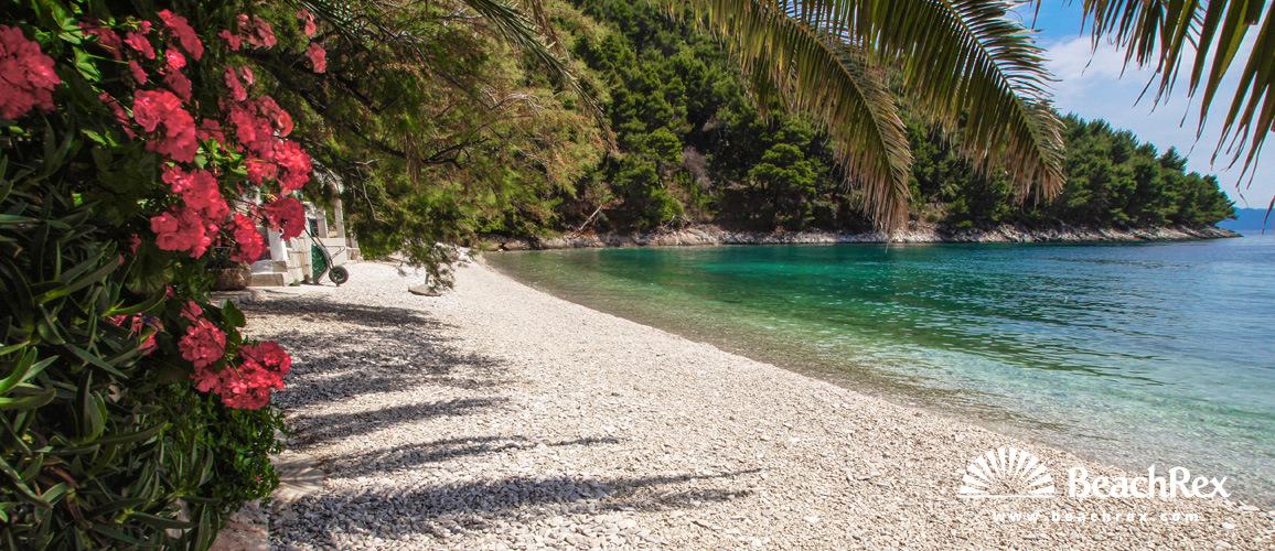 Croatia - Dalmatia  Split - Island Hvar -  Bogomolje - Beach Smokvina