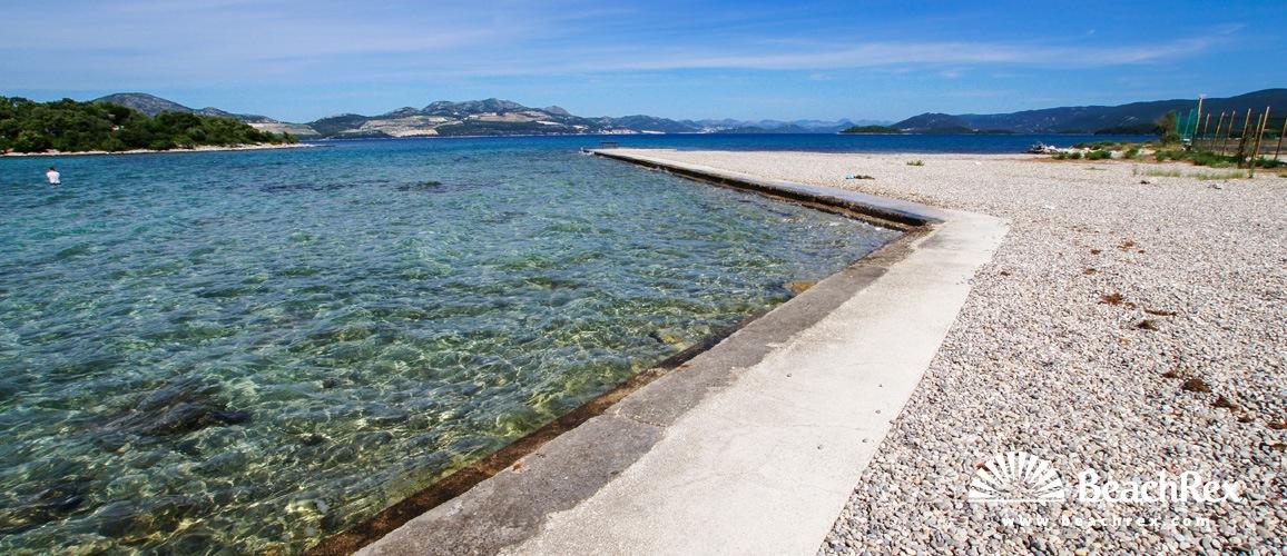Croatia - Dalmatia  Dubrovnik -  Sreser - Beach Rat