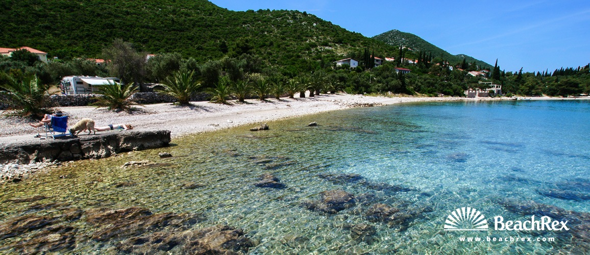 Croatia - Dalmatia  Dubrovnik -  Trpanj - Beach Luka