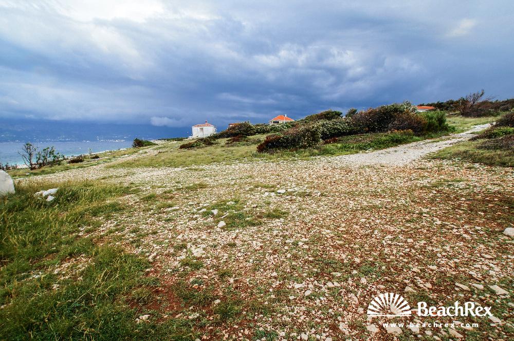 Croatia - Dalmatia  Split - Island Brač -  Povlja - Beach Rt Povlja
