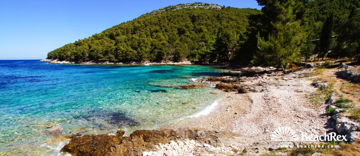 Croatia - Dalmatia  Dubrovnik - Island Korčula -  Vela Luka - Beach Loštura