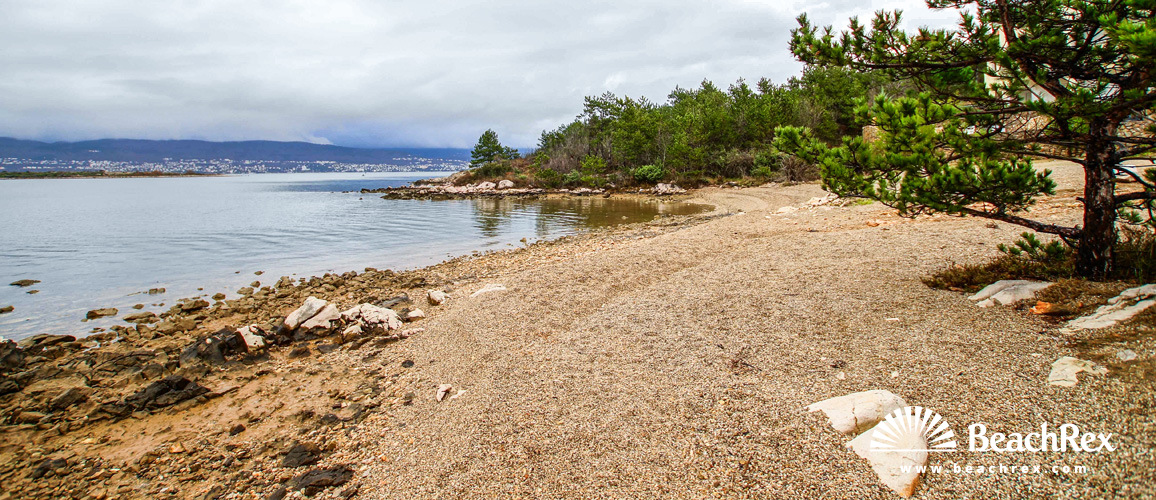 Hrvatska - Kvarner - Otok Krk -  Klimno - Plaža Ladinka