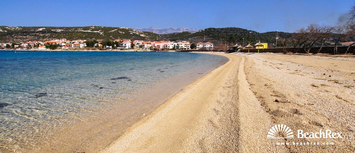 Croatia - Lika - Island Pag -  Stara Novalja - Beach Planjka