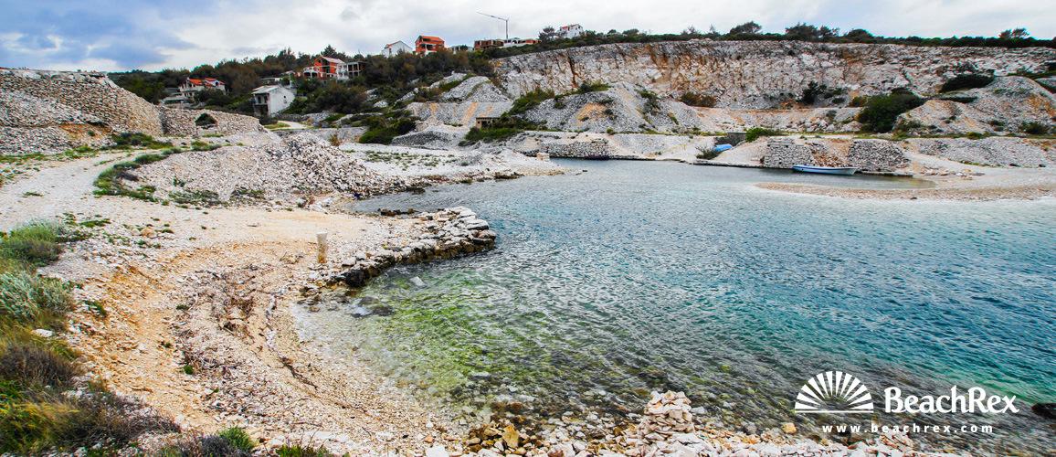 Croatia - Dalmatia  Split - Island Brač -  Povlja - Beach Tičja luka