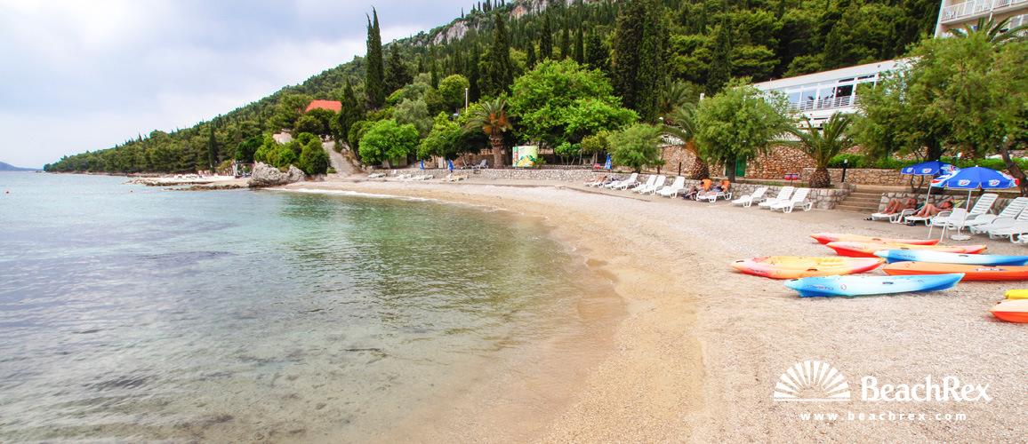 Hrvatska - Dalmacija  Dubrovnik -  Orebić - Plaža Orsan