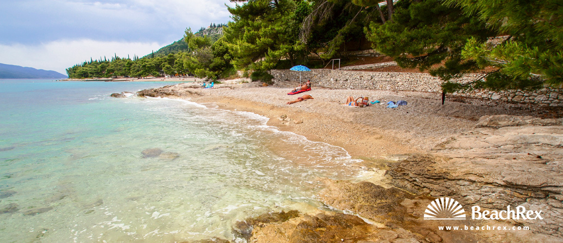 Croatia - Dalmatia  Dubrovnik -  Orebić - Beach Bellevue