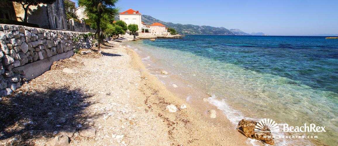 Croatia - Dalmatia  Dubrovnik -  Orebić - Beach Mimbelli