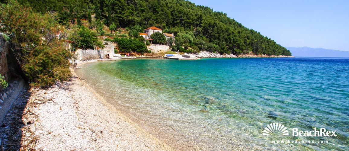 Croatia - Dalmatia  Split - Island Hvar -  Bogomolje - Beach Smrska