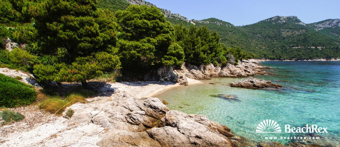 Croatia - Dalmatia  Dubrovnik -  Trstenik - Beach Zaglavak