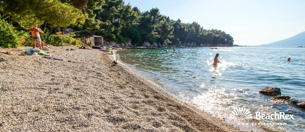 Croatia - Dalmatia  Dubrovnik -  Žuljana - Beach Kremena