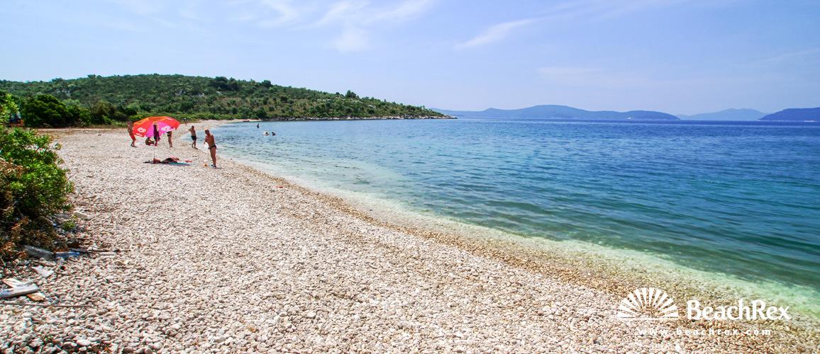 Croatia - Dalmatia  Dubrovnik -  Banići - Beach Budima