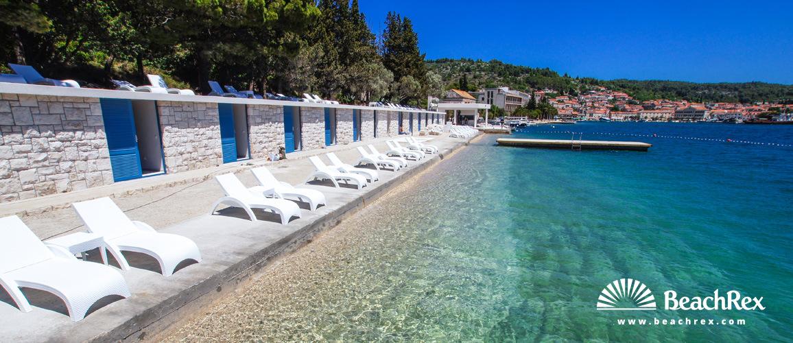 Croatia - Dalmatia  Dubrovnik - Island Korčula -  Vela Luka - Beach Poseidon