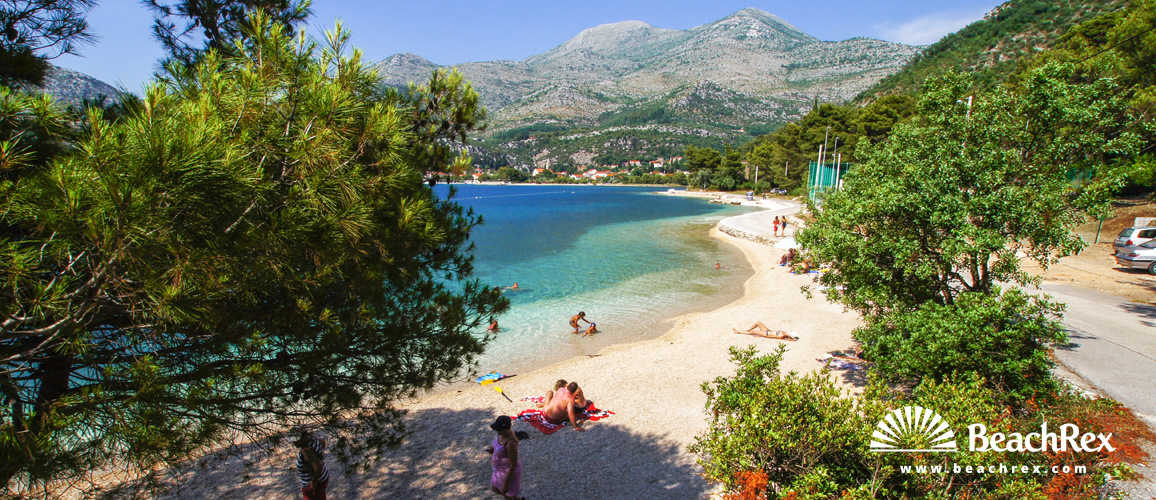 Croatia - Dalmatia  Dubrovnik -  Slano - Beach Karmelska