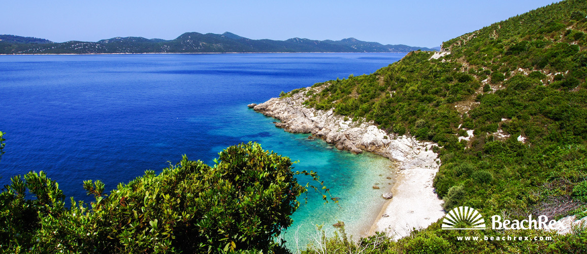 Croatia - Dalmatia  Dubrovnik -  Dubravica - Beach Mali Žal