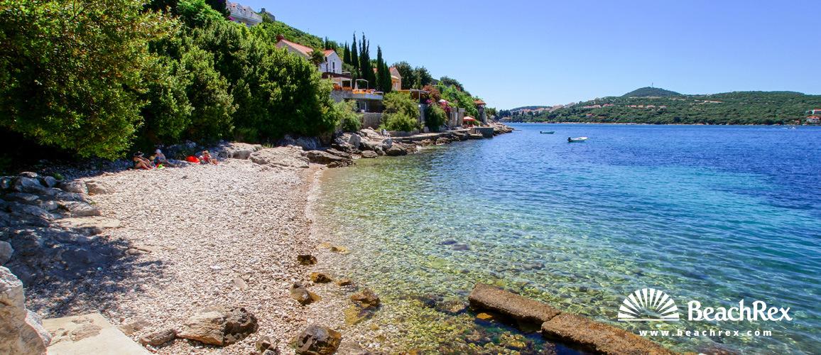 Croatia - Dalmatia  Dubrovnik -  Lozica - Beach Lozica