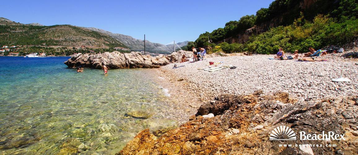 Croatia - Dalmatia  Dubrovnik -  Dubrovnik - Beach Coral
