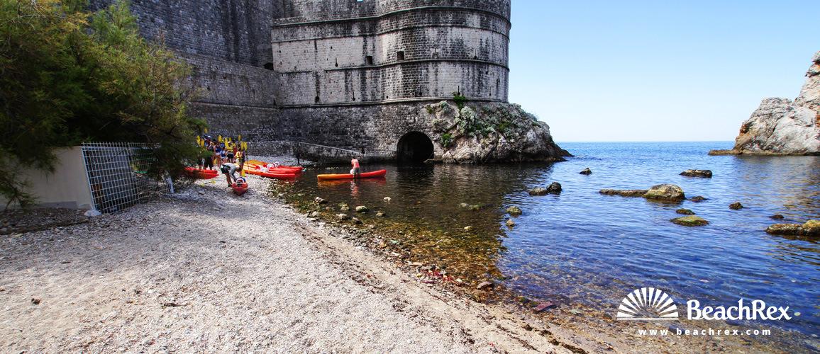 Croatia - Dalmatia  Dubrovnik -  Dubrovnik - Beach Bokar