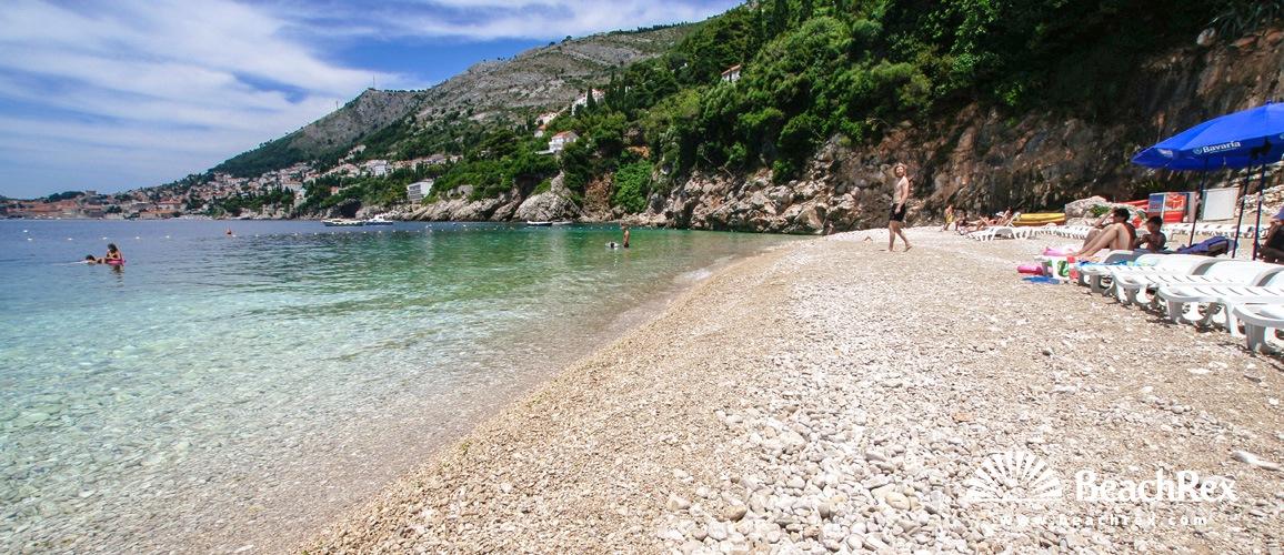 Croatia - Dalmatia  Dubrovnik -  Dubrovnik - Beach Sveti Jakov