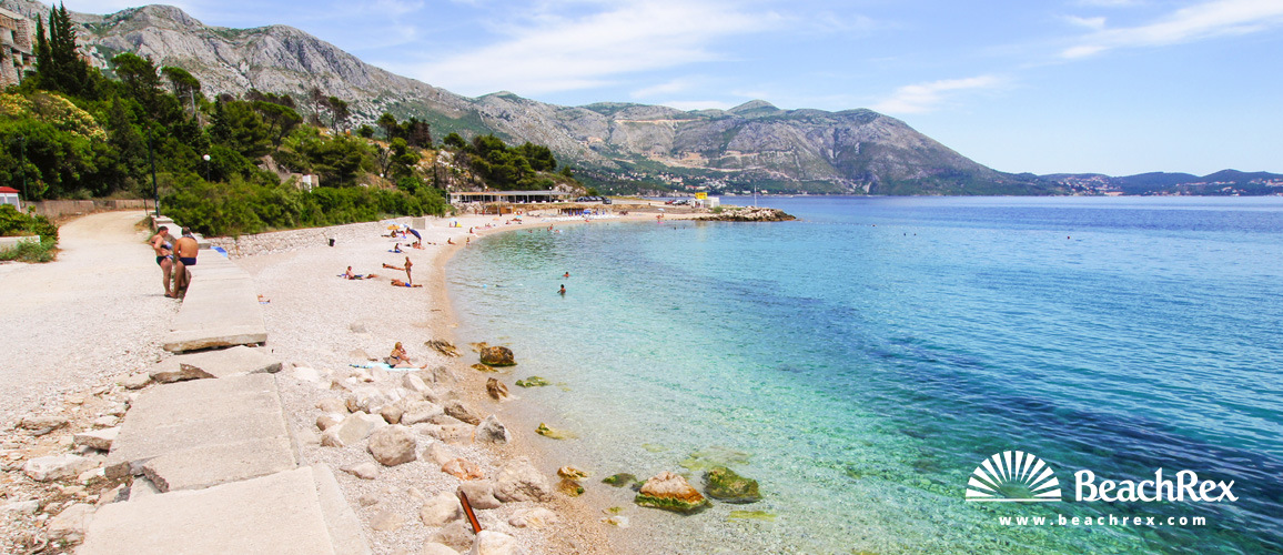 Croatia - Dalmatia  Dubrovnik -  Kupari - Beach Kupari