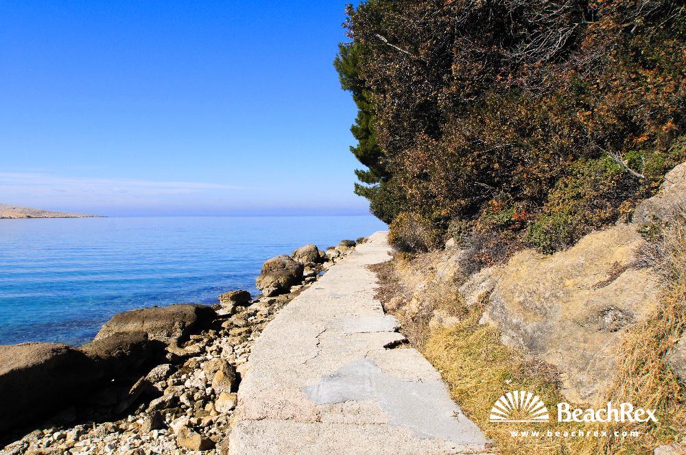 Croatia - Kvarner - Island Rab -  Lopar - Beach Tiha