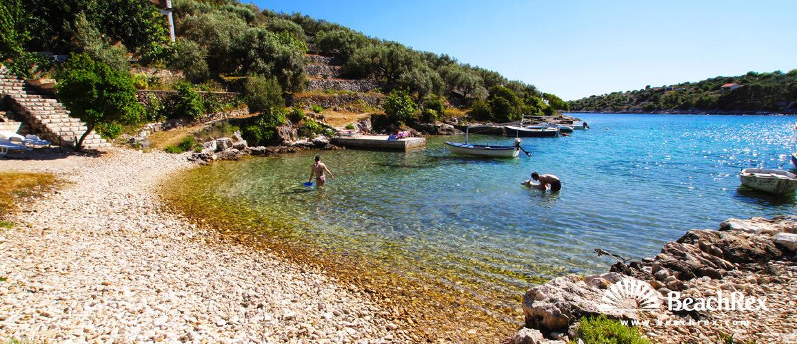 Croatia - Dalmatia  Dubrovnik - Island Korčula -  Vela Luka - Beach Strašinčica