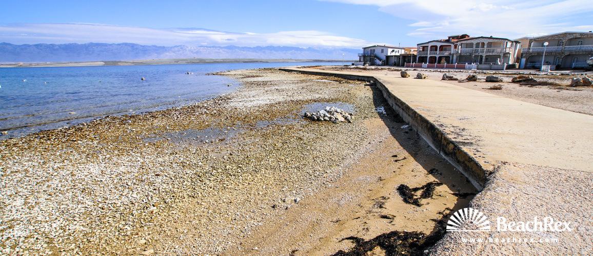 Croatia - Dalmatia  Zadar - Island Vir -  Vir - Beach Brdonja