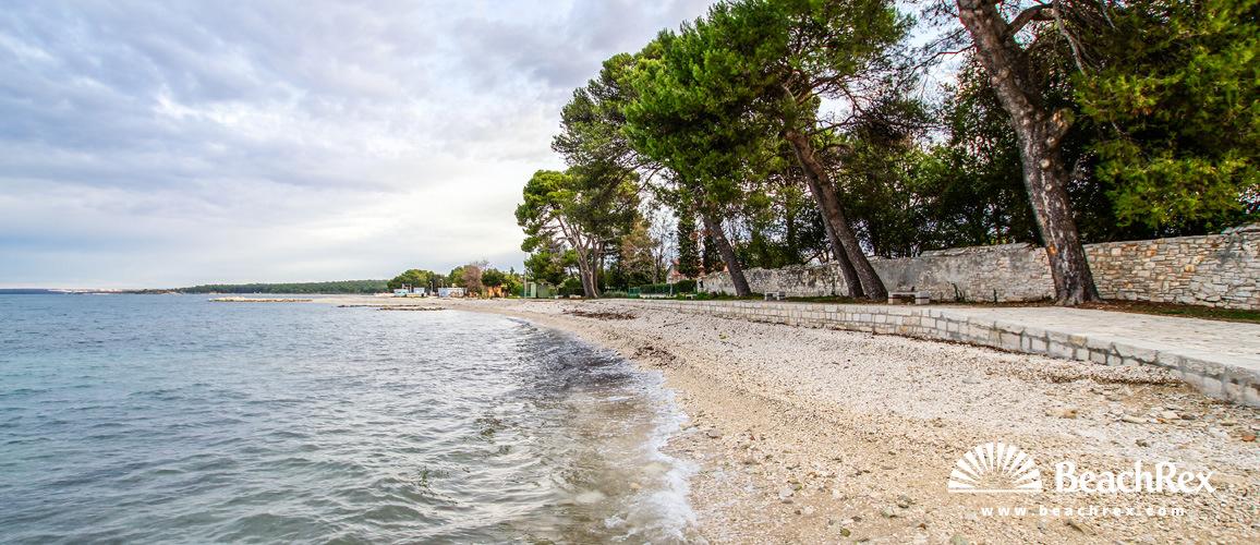 Hrvaška - Istra -  Fažana - Plaža San Lorenzo