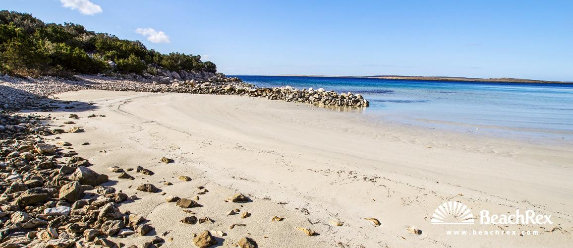Croatia - Dalmatia  Zadar - Island Pag -  Pag - Beach Urša