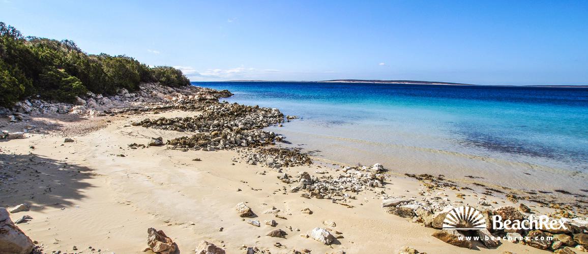 Croatia - Dalmatia  Zadar - Island Pag -  Pag - Beach Fortuna