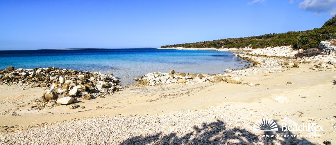 Hrvatska - Dalmacija  Zadar - Otok Pag -  Pag - Plaža Fortuna
