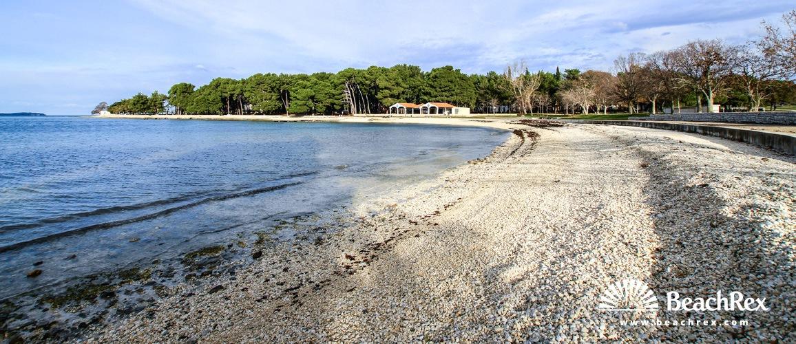Croatia - Istra -  Valbandon - Beach Runci