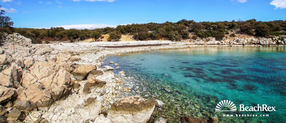 Croatia - Dalmatia  Zadar - Island Pag -  Šimuni - Beach Jadrovnica