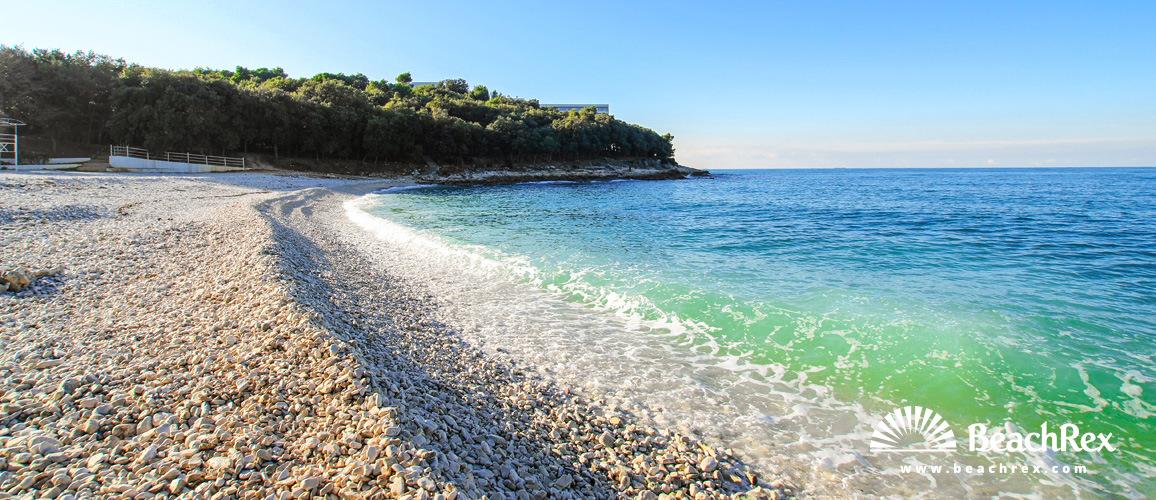 Beach Sveti Ivan Pula Istra Croatia Beachrex Com