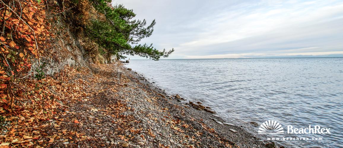 Slovenia - Obalno kraška -  Ankaran - Beach Debeli Rtič