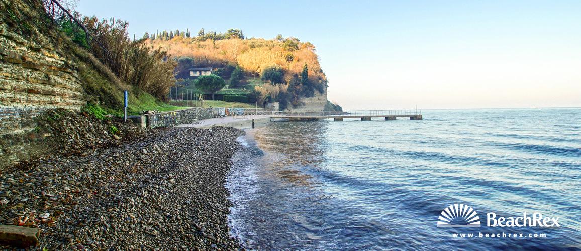 Slovenia - Obalno kraška -  Portorož - Beach Pacug