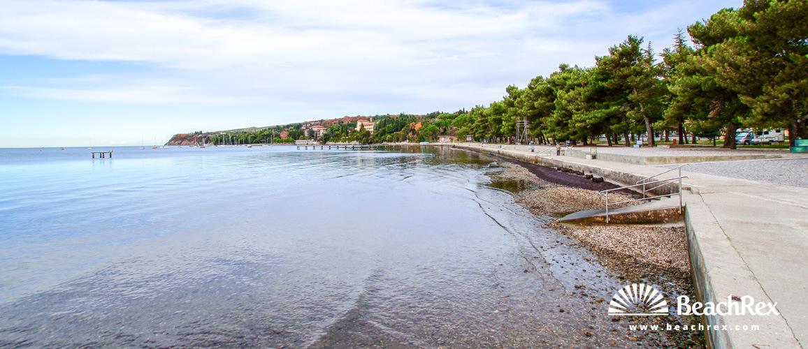 Slovenia - Obalno kraška -  Ankaran - Beach Ankaran