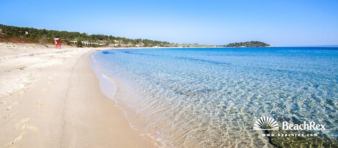 Greece - Kentriki Makedonia -  Chrousou - Paralia Paliouri