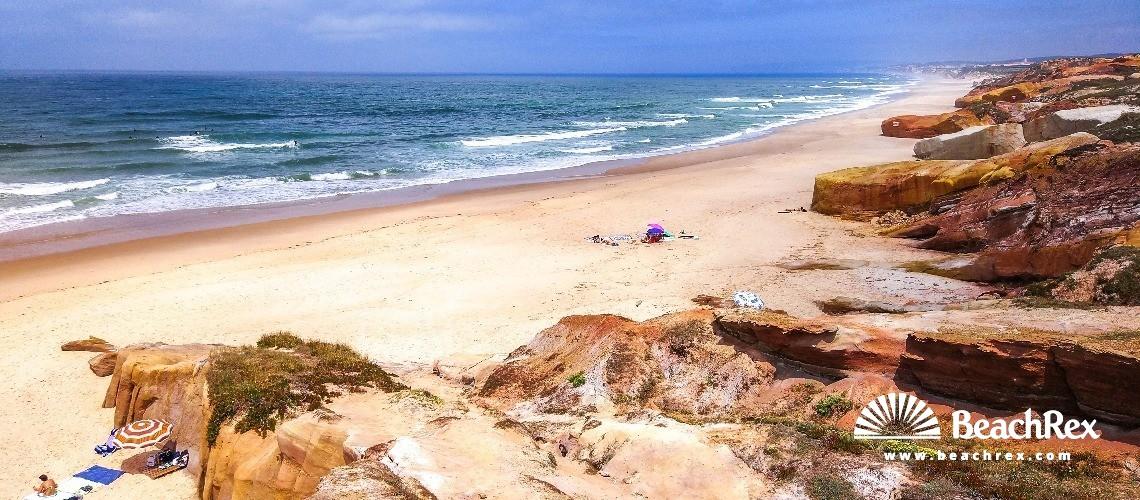 Portugal - Leiria -  Ferrel - Praia da Almagreira