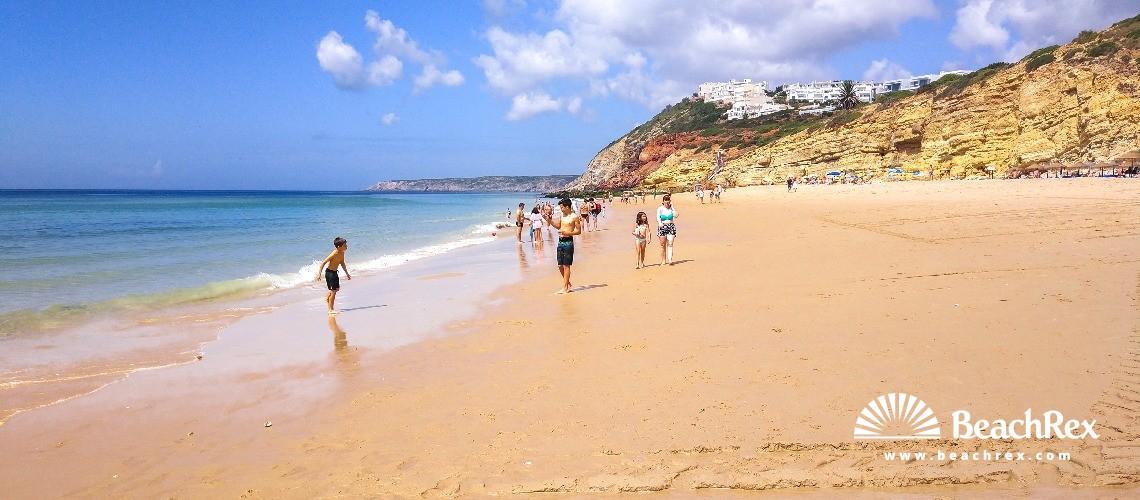 Portugal - Algarve -  Budens - Praia da Salema