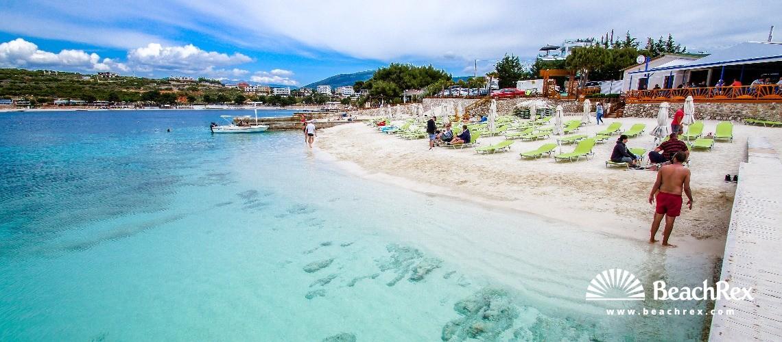 Albania - Vlorë -  Ksamil - Plazhi Ksamil 7
