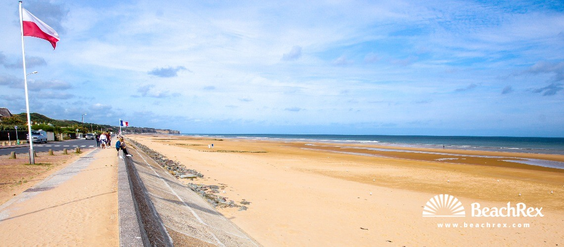 Plage Omaha beach - Saint-Laurent-sur-Mer - Normandie