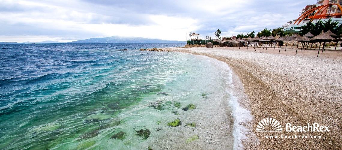 Albania - Vlorë -  Sarandë - Plazhi Sarandë 4